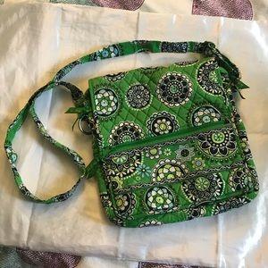 Vera Bradley Cupcake Green Cross Body Bag